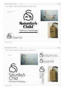 Saturday's Child Branding Project 2